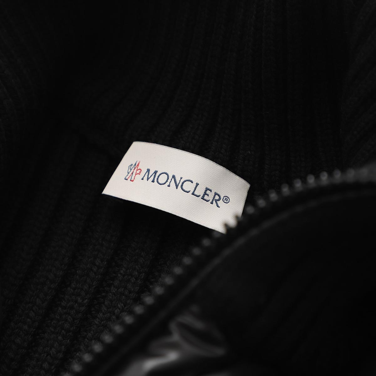 【タイムセール TOPS】MONCLER モンクレール ダウン入りジップカーディガン レディース