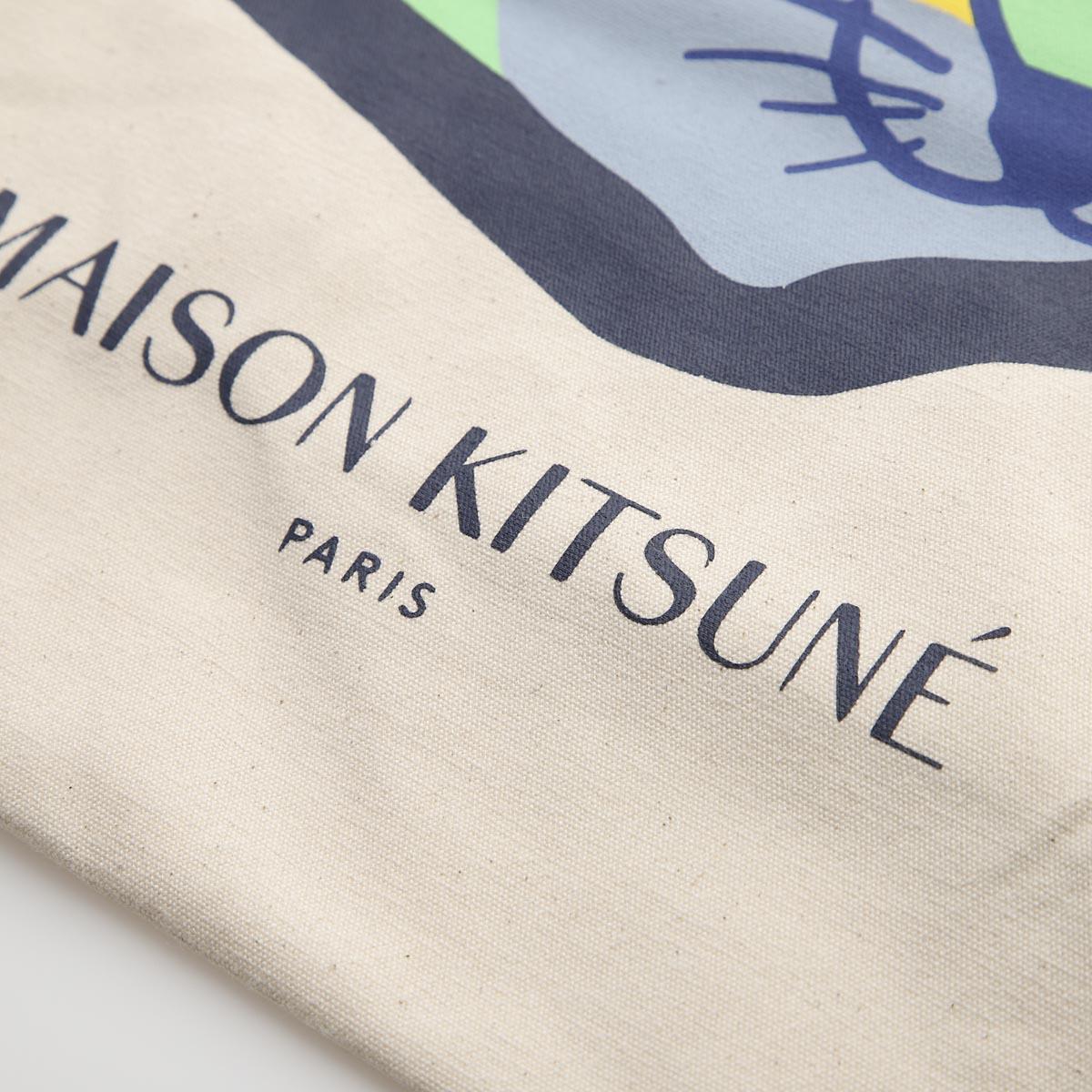 MAISON KITSUNE メゾンキツネ トートバッグ/NEON FOX HEAD