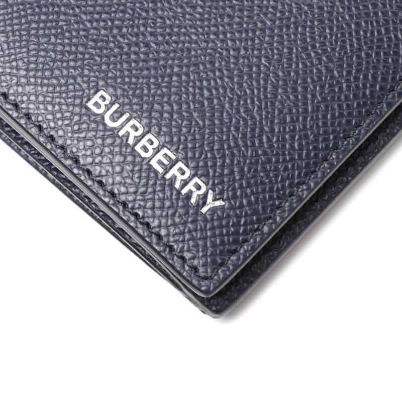 【大感謝祭】BURBERRY バーバリー 長財布 小銭入れ付き/GRAINY LEATHER CONTINENTAL WALLET メンズ