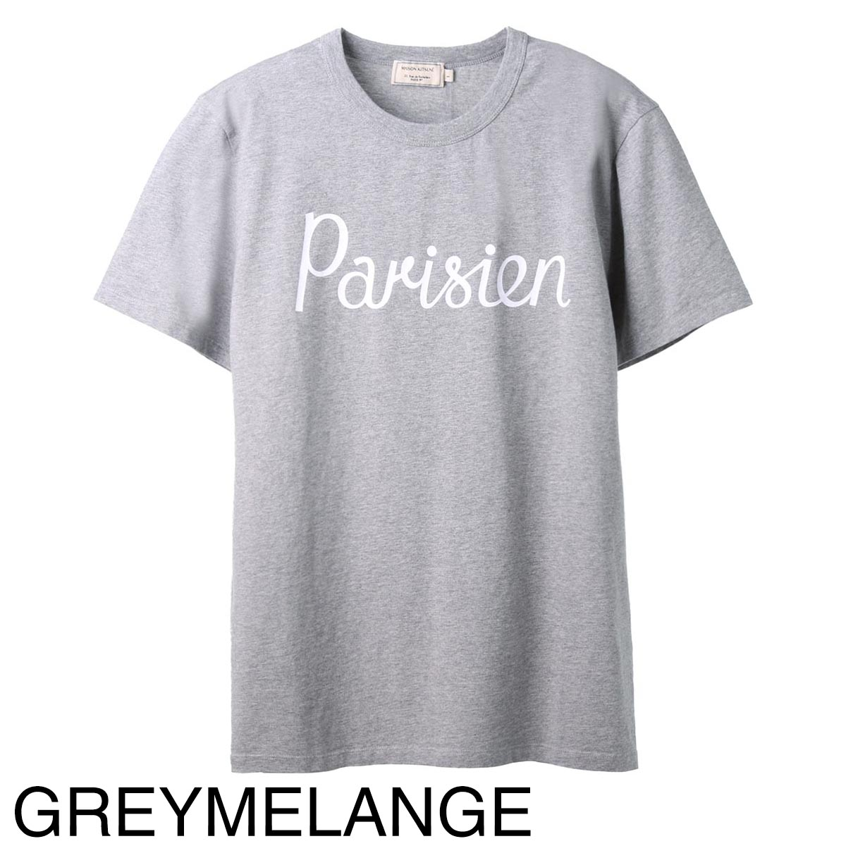 MAISON KITSUNE メゾンキツネ クルーネック Tシャツ/PARISIEN CLASSIC TEE-SHIRT メンズ
