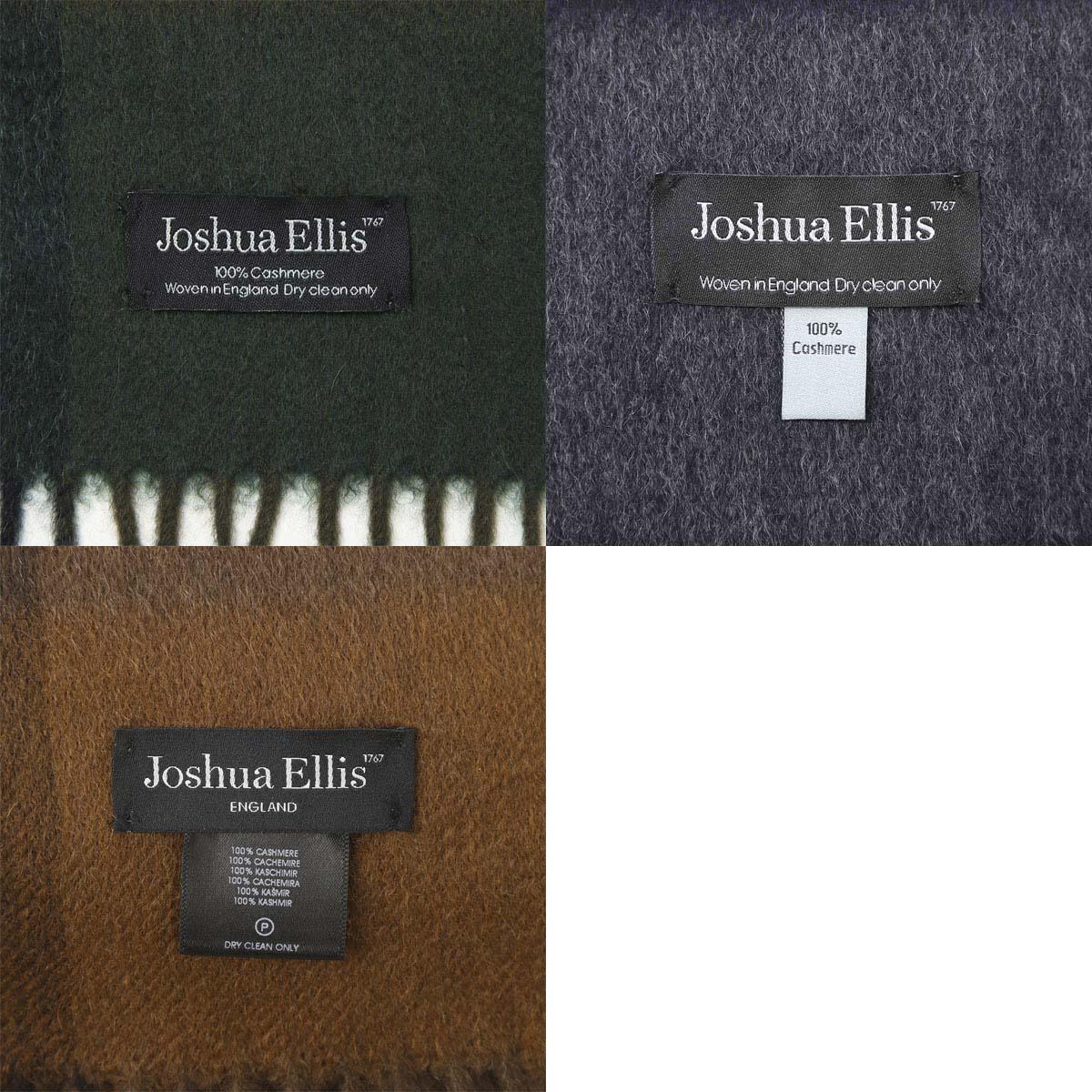 【タイムセール ACCS】Joshua Ellis ジョシュアエリス カシミア大判ストール/ストール/CPG レディース