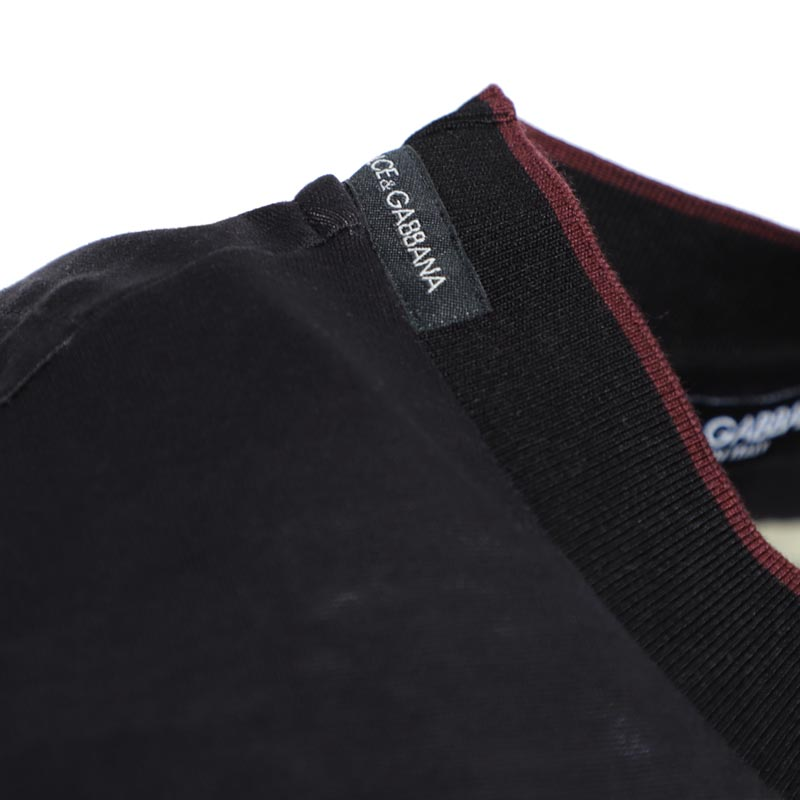 【アウトレット】DOLCE&GABBANA  ドルチェ&ガッバーナ クルーネックTシャツ メンズ