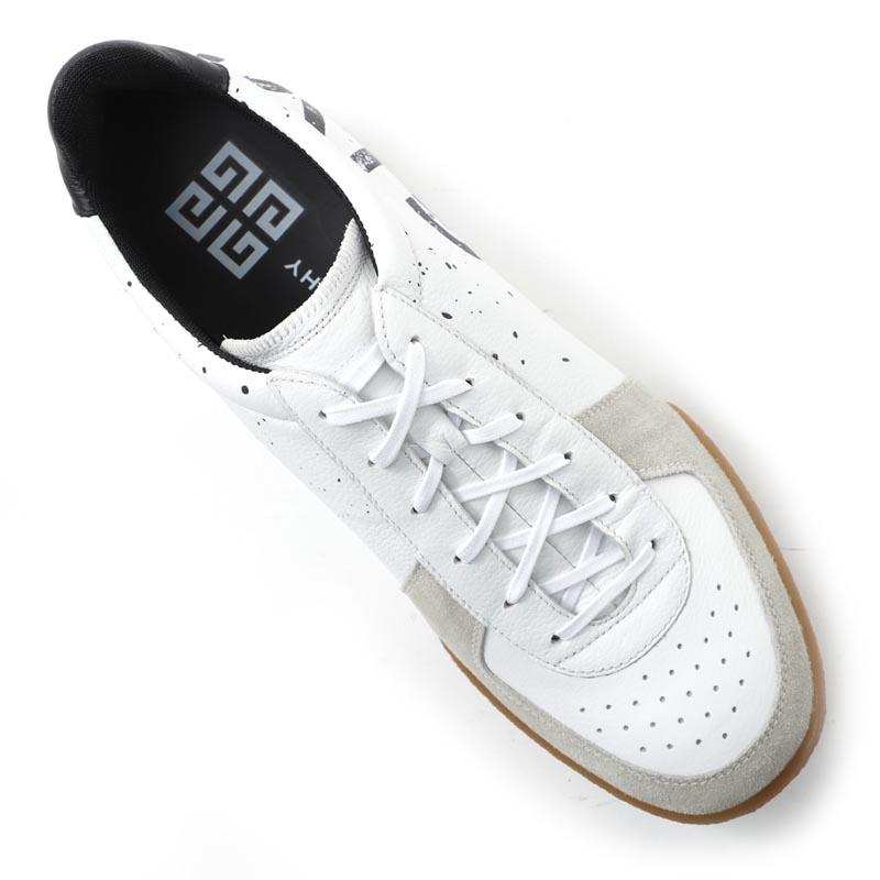 【タイムセール SHOS】GIVENCHY ジバンシー スニーカー/レザースニーカー/TENNIS SNEAKER テニス スニーカー【大きいサイズあり】 メンズ