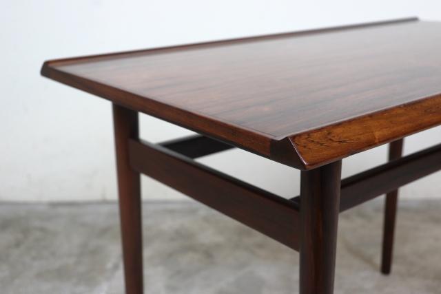 デンマーク コーヒーテーブル サイドテーブル ローズウッド 北欧 ち55-1