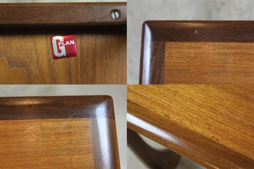 G-PLAN タイルトップネストテーブル ジープラン さ58