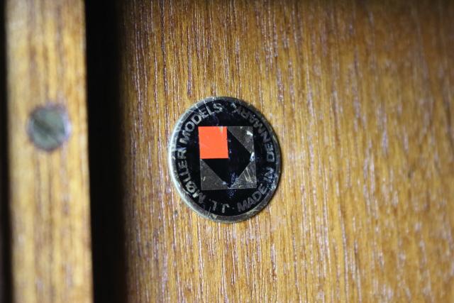 J L Moller  サイドボード チーク デンマーク 北欧 き60