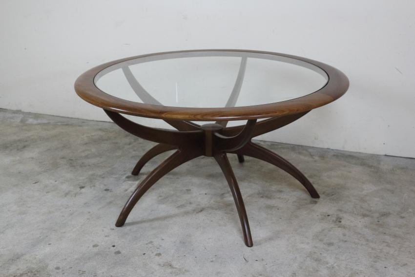 G-PLAN スパイダーテーブル ガラストップ コーヒーテーブル ジープラン き39-2