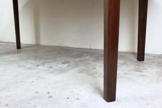 デンマーク エクステンションダイニングテーブル ローズウッド す104-1
