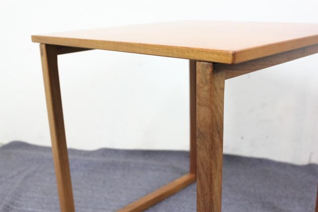 カイ・クリスチャンセン ネストテーブル チーク Kai Kristiansen す49-1