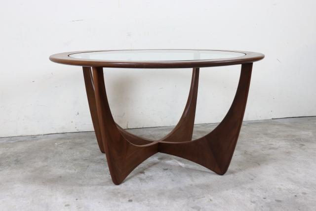 G-PLAN ガラストップコーヒーテーブル ち91-2
