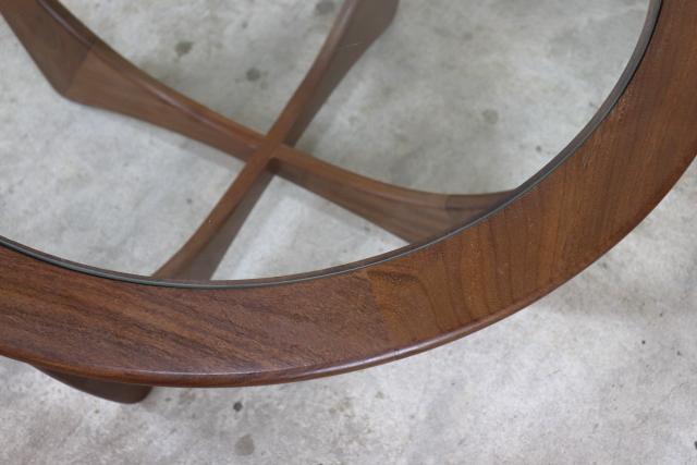 G-PLAN フレスコ ガラストップコーヒーテーブル ラーセン Larsen そ91-2