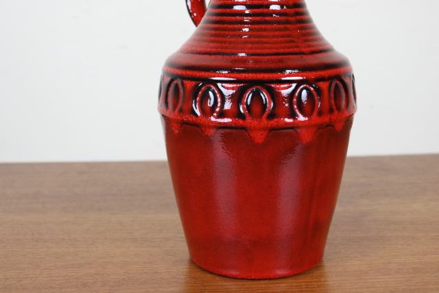 FAT-LAVA ファットラヴァ W12.5cm×H24.5cm 陶器 た269