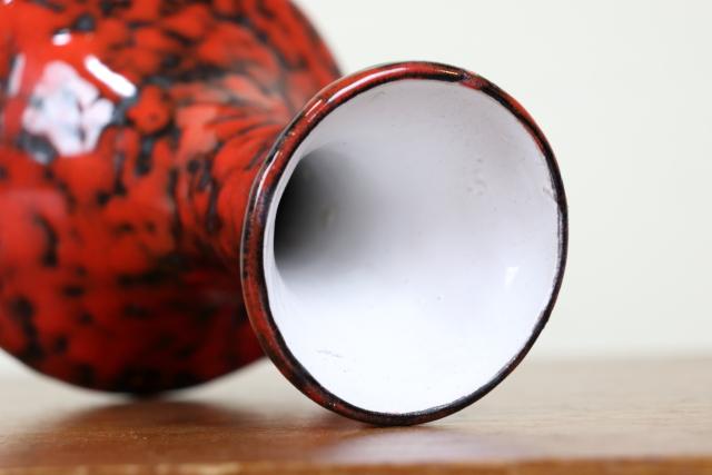 FAT-LAVA ファットラヴァ W11.5cm×H19.5cm 陶器 た270