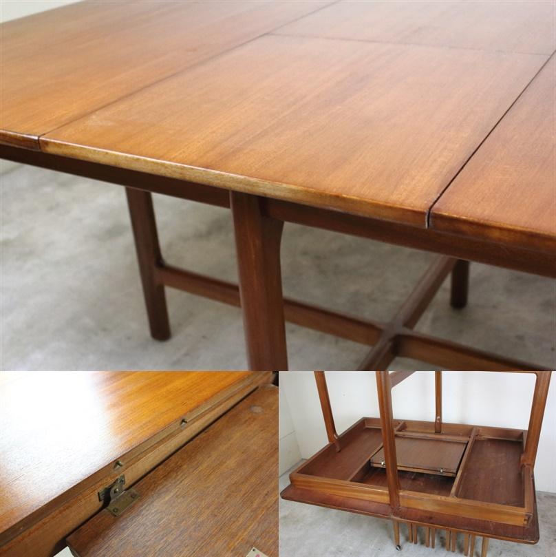 マッキントッシュ  エクステンションダイニングテーブル ヴィンテージ チーク イギリス A.H.McINTOSH す71-1