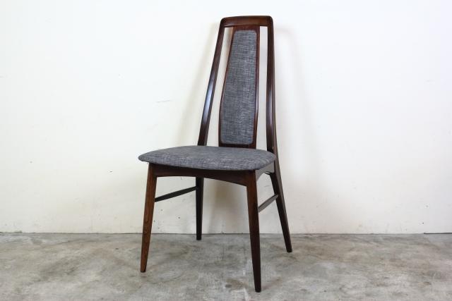 Niels Koefoed ハイバックチェア Eva Chair ローズウッド  お95-1
