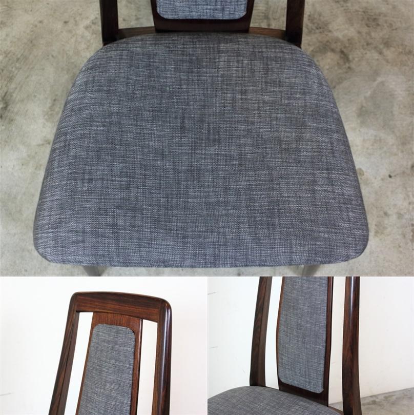 Niels Koefoed ハイバックチェア Eva Chair ローズウッド  お95-2