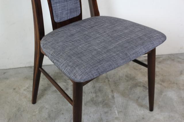 Niels Koefoed ハイバックチェア Eva Chair ローズウッド  お95-4