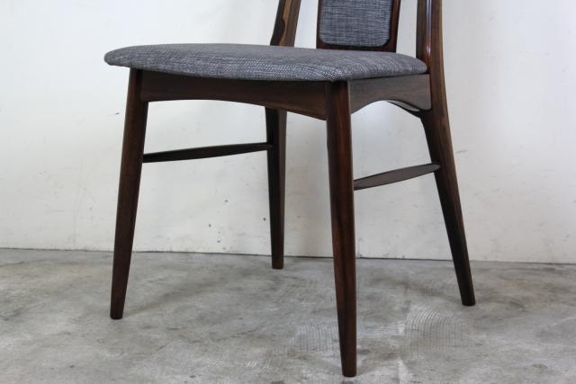 Niels Koefoed ハイバックチェア Eva Chair ローズウッド  お95-6
