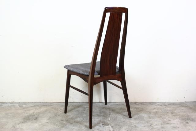 Niels Koefoed ハイバックチェア Eva Chair ローズウッド  お95-7