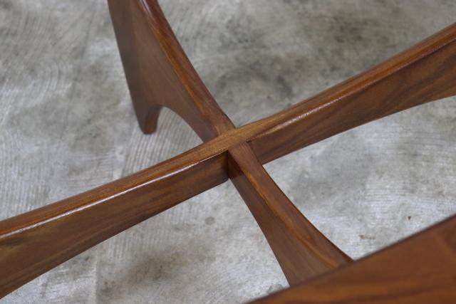G-PLAN ガラストップコーヒーテーブル ち15-1