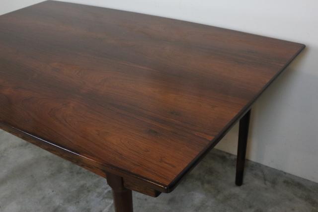 デンマーク エクステンションダイニングテーブル ローズウッド き56