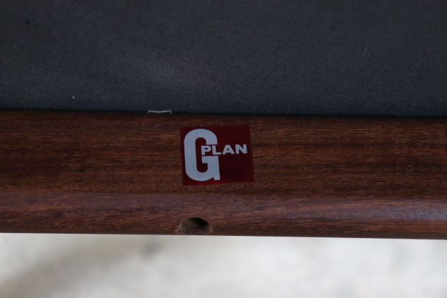G-PLAN ジープラン ダイニングチェア ブラウン ち12-2