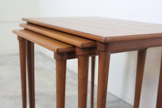BRAMIN ネストテーブル デンマーク チーク ブラーミン き35