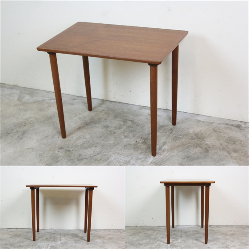 BRAMIN ネストテーブル デンマーク チーク ブラーミン き49