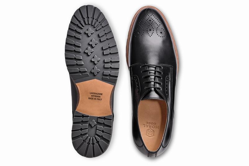 革靴カジュアル MAYSON メイソン ブラック 外羽根