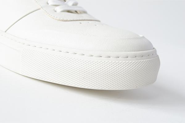 レザースニーカー KAI カイ ホワイト 白