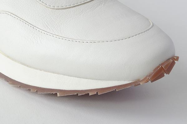 レザースニーカー 白 メンズ JET BONE ジェット ホワイト
