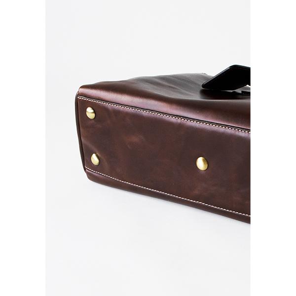 ビジネスレザートートバッグ メンズ CROSBYクロスビー ブラウン 茶色