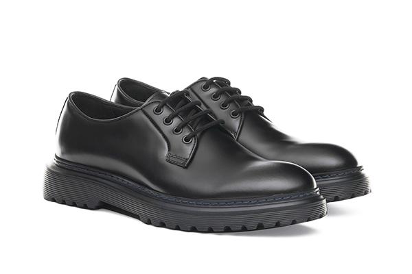 革靴カジュアル CHASE チェイス ブラック 黒