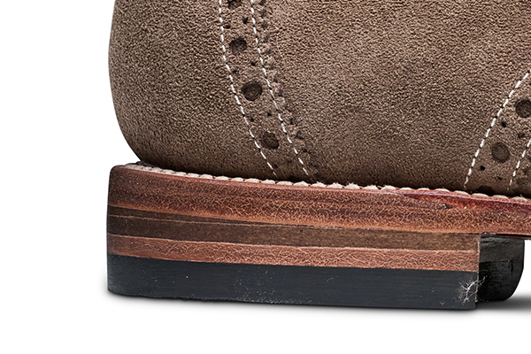 革靴 ストレートチップ NEWTON ニュートン サンドスエード グッドイヤーウェルト メンズシューズ