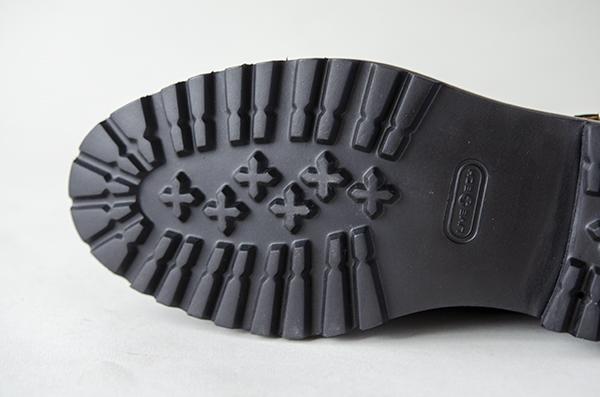 革靴 ダブルモンクストラップ DENNY デニー ブラック グッドイヤーウェルト