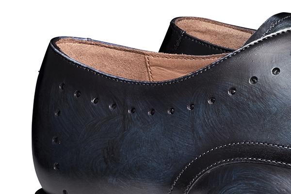 革靴 BRICE ブライス ブルー グッドイヤーウェルト メンズシューズ