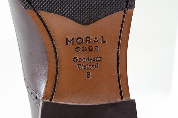 革靴 ストレートチップ内羽根 DAISY デイジー ダークブラウン グッドイヤーウェルト
