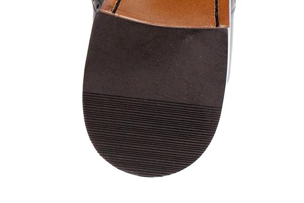 革靴 ストレートチップ内羽根 AARON アーロン ダークブラウン グッドイヤーウェルト