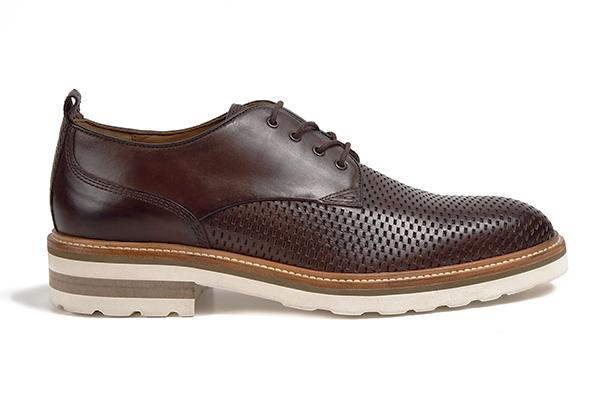 革靴カジュアル MARSHALL マーシャル ダークブラウン メッシュ