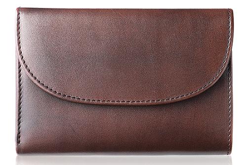 MERRILL DARK BROWN メリルブラウン メンズ 三つ折り財布