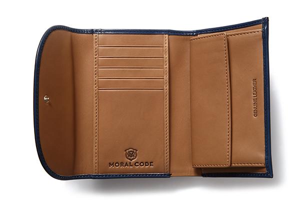 MERRILL DARK BLUE メリル ダークブルー メンズ 三つ折り財布