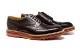 革靴カジュアル PACKERS パッカース 外羽根 ウイングチップ ダークブラウン