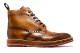 革靴カジュアル JACOB ジャコブ 外羽根 ブーツ ブラウン