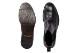 革靴カジュアル ANDRETTI アンドレッティ サイドゴア ブーツ ウイングチップ ブラック