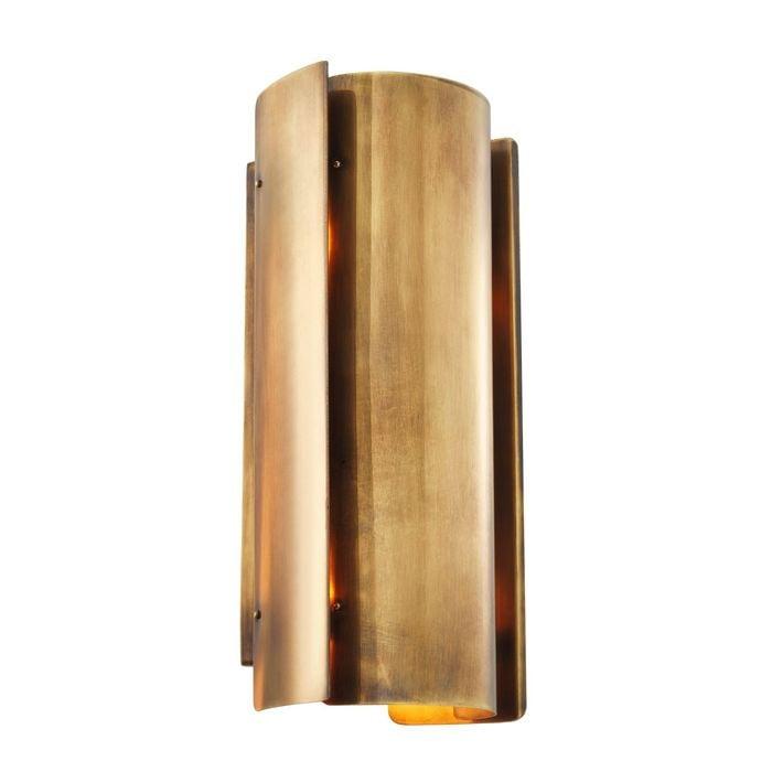 EICHHOLTZ_Wall Lamp Verge vintage brass finish