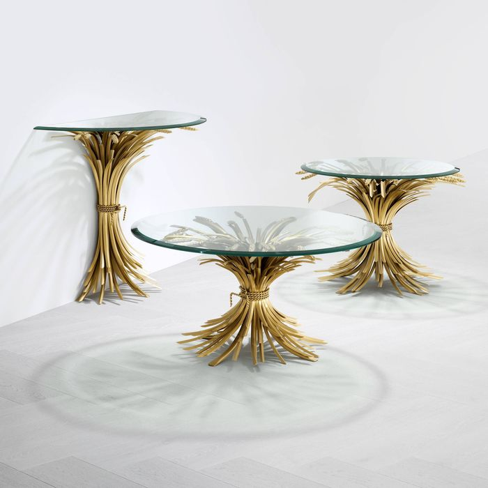 EICHHOLTZ_Coffee Table Bonheur antique gold finish