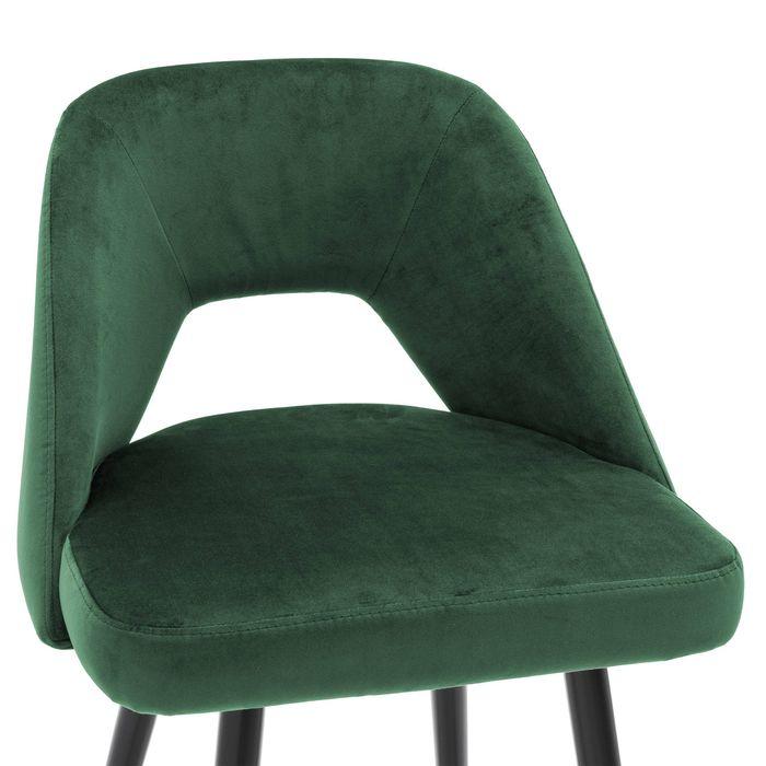 EICHHOLTZ_Bar Stool Avorio roche green velvet