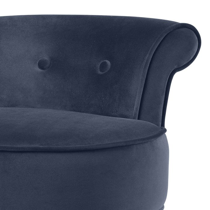 EICHHOLTZ_Bar Stool Sophia Loren savona midnight blue velvet