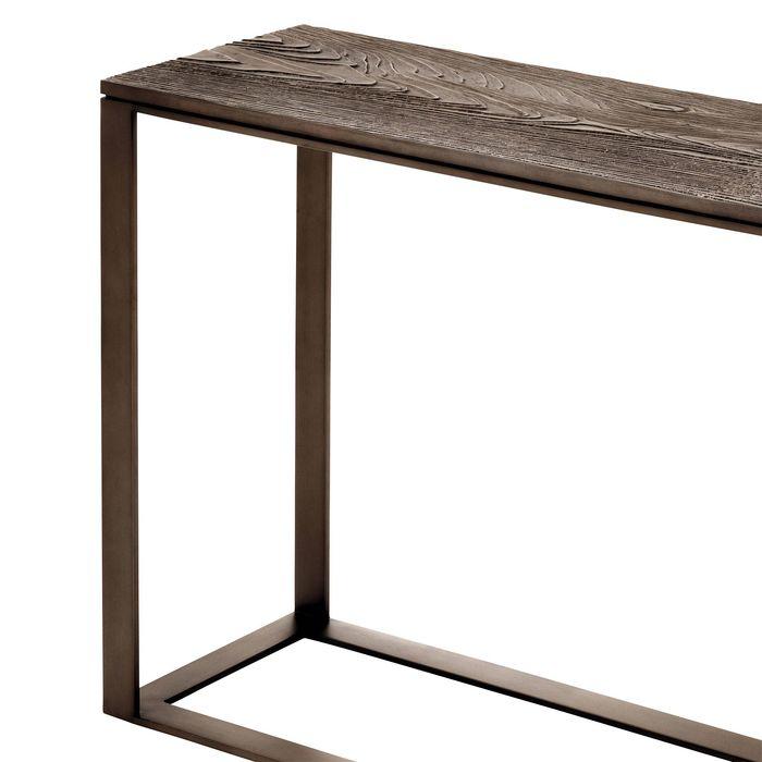 EICHHOLTZ_Console Table Zino light bronze finish