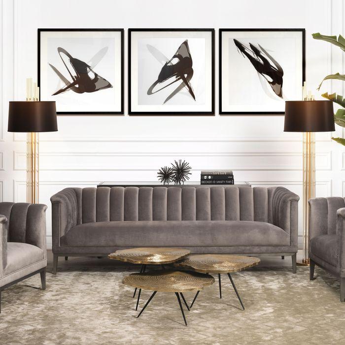 EICHHOLTZ_Sofa Raffles roche porpoise grey velvet